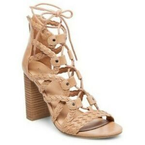 Merona Lace Up Block Heel